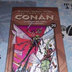 Cómics: LAS CRÓNICAS DE CONAN N° 20 PLANETA DEAGOSTINI. Lote 295343533