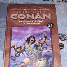 Cómics: LAS CRÓNICAS DE CONAN N° 21 PLANETA DEAGOSTINI. Lote 295343958