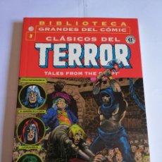 Cómics: CLASICOS DEL TERROR NUM 3 - BIBLIOTECA GRANDES DEL COMIC. Lote 295476708