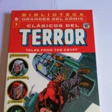 Cómics: CLASICOS DEL TERROR NUM 5 - BIBLIOTECA GRANDES DEL COMIC. Lote 295476713