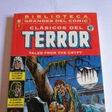 Cómics: CLASICOS DEL TERROR NUM 1 - BIBLIOTECA GRANDES DEL COMIC. Lote 295476718