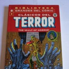 Cómics: CLASICOS DEL TERROR NUM 6 - BIBLIOTECA GRANDES DEL COMIC. Lote 295476728