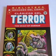 Cómics: CLASICOS DEL TERROR NUM 9 - BIBLIOTECA GRANDES DEL COMIC. Lote 295476738