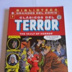Cómics: CLASICOS DEL TERROR NUM 7 - BIBLIOTECA GRANDES DEL COMIC. Lote 295476743