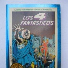 Cómics: LIBROS GRANDES SAGAS MARVEL - LOS 4 FANTÁSTICOS / 2 - ÚLTIMO ASALTO - FORUM - PLANETA - AÑO 1995.. Lote 295496023