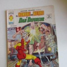 Cómics: HEROES MARVEL V.2 Nº 26 HOMBRE DE HIERRO Y DAN DEFENSOR. 1977. 35 PTS MUNDI-COMICS VÉRTICE ARX151 LV. Lote 295508823