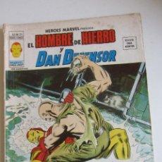 Cómics: HEROES MARVEL V.2 Nº 25 HOMBRE DE HIERRO Y DAN DEFENSOR. 1977. 35 PTS MUNDI-COMICS VÉRTICE ARX151 LV. Lote 295509113
