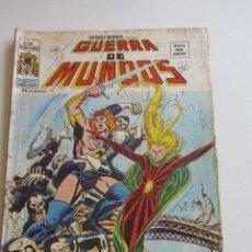 Cómics: HEROES MARVEL V.2 Nº 24 - GUERRA DE MUNDOS 1977. 35 PTS MUNDI-COMICS VÉRTICE ARX151 LV. Lote 295509418