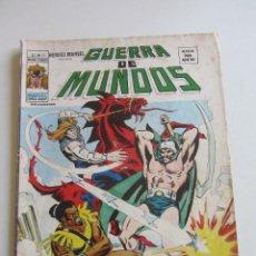 Cómics: HEROES MARVEL V.2 Nº 23 - GUERRA DE MUNDOS 1977. 35 PTS MUNDI-COMICS VÉRTICE ARX151 LV. Lote 295509708