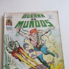 Cómics: HEROES MARVEL V.2 Nº 22 - GUERRA DE MUNDOS 1977. 35 PTS MUNDI-COMICS VÉRTICE ARX151 LV. Lote 295509858