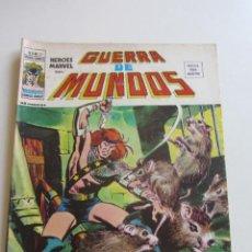 Cómics: HEROES MARVEL V.2 Nº 21 GUERRA DE MUNDOS 1977. 35 PTS MUNDI-COMICS VÉRTICE ARX152 LV. Lote 295729463
