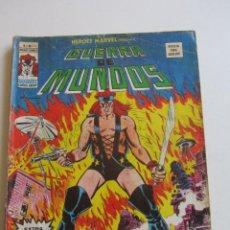 Cómics: HEROES MARVEL V.2 Nº 20 GUERRA DE MUNDOS 1977. 35 PTS MUNDI-COMICS VÉRTICE ARX152 LV. Lote 295729823