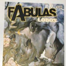 Cómics: FABULAS. LOBOS. BILL WILLINGHAM. PLANETA 2006. Lote 296690058