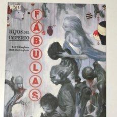 Cómics: FABULAS. HIJOS DEL IMPERIO. BILL WILLINGHAM. PLANETA 2008. Lote 296690558
