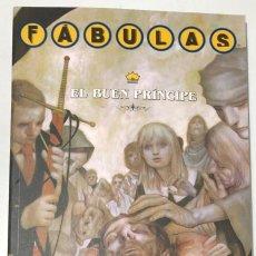 Cómics: FABULAS. EL BUEN PRINCIPE. BILL WILLINGHAM. PLANETA 2008. Lote 296690808
