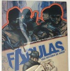 Cómics: FABULAS. UNA HISTORIA DE AMOR. BILL WILLINGHAM. PLANETA 2006. Lote 296691813