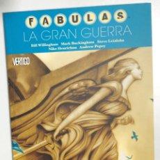 Cómics: FABULAS. LA GRAN GUERRA. BILL WILLINGHAM. PLANETA 2007. Lote 296692303