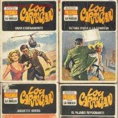 Cómics: LA HUELLA - LOU CARRIGAN - EDITORIAL BRUGUERA, ESPAÑA. Lote 26626044