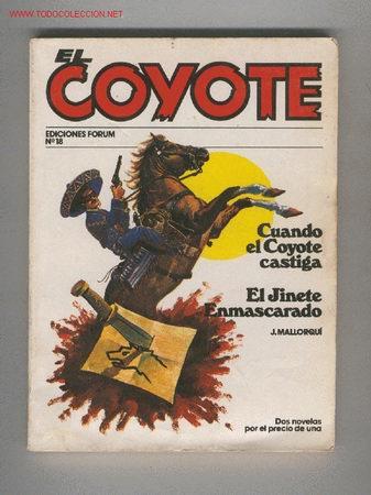 REF 9190 EL COYOTE NUMERO 18 (Tebeos, Comics y Pulp - Pulp)