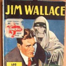 Cómics: HOMBRES AUDACES Nº 146 - NOVELA DE JIM WALLACE - LOS DOLARES DE LA MUERTE POR NICK CARTER. Lote 19614905