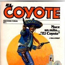 Cómics: EL COYOTE , FORUM, LOTE DE 67 NºS, ESTAN 1 Y 96 ÚLTIMO. Lote 27223685
