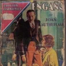 Cómics: ENGAÑO - JOAN SUTHERLAND - EDIT. MOLINO - AÑO 1934. Lote 26775568