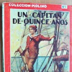 Cómics: UN CAPITÁN DE QUINCE AÑOS - JULIO VERNE - COLECCIÓN MOLINO Nº 1 - . Lote 19482095