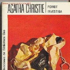 Cómics: AGATHA CHRISTIE : POIROT INVESTIGA. Lote 27093306