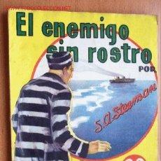 Cómics: EL ENEMIGO SIN ROSTRO - S.A. STEEMAN - LA NOVELA AVENTURA Nº 82 - AÑO 1935 - HYMSA. Lote 19482127