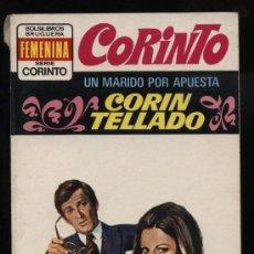 Comics : CORINTO BRUGUERA 1974. Nº 417. UN MARIDO POR APUESTA. POR CORÍN TELLADO. Lote 11610829