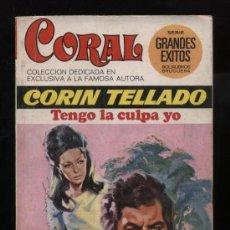 Comics : CORAL.Nº 447. BRUGUERA 1976. TENGO LA CULPA YO POR CORÍN TELLADO. Lote 11619848