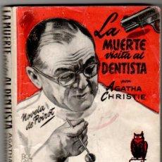 Cómics: SELECCIONES DE BIBLIOTECA ORO 79, AGATHA CHRISTIE, LA MUERTE VISITA EL DENTISTA, POIROT, 1952. Lote 206494818