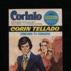 Comics : CORINTO Nº 523. CONFUNDÍ TU COBARDÍA. CORÍN TELLADO. BRUGUERA 1976. Lote 14274009