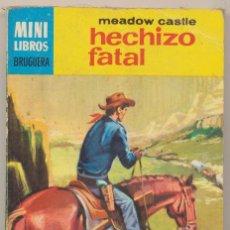 Cómics: SERIE OESTE Nº 476. HECHIZO FATAL POR MEADOW CASTLE. .MINI LIBROS BRUGUERA 1967.. Lote 15526773