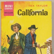 Cómics: SERIE OESTE Nº 105. CALIFORNIA POR TEX TAYLOR .MINI LIBROS BRUGUERA 1963.. Lote 27281447