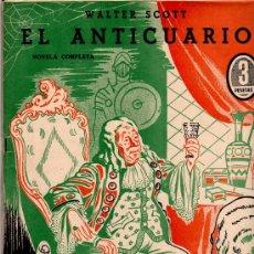 Cómics: OBRAS COMPLETAS EDI. DEDALO 1945, 8 EJEMPLARES, R. SABATINI, WALTER SCOTT,C. DICKENS,VICTOR HUGO, ET. Lote 22645748