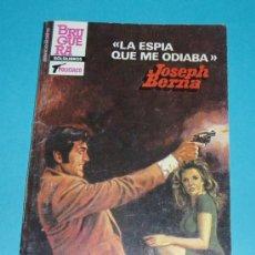 Cómics: LA ESPIA QUE ME ODIABA. JOSEPH BERNA. COL. SERVICIO SECRETO Nº 1766. 94 PÁGINAS ( L19 ). Lote 15642719