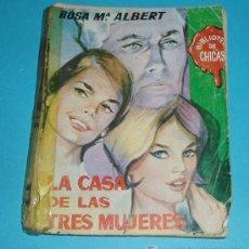 Cómics: LA CASA DE LAS TRES MUJERES. ROSA Mª ALBERT. PORTADA DE XELIA ( L15 ). Lote 19951768