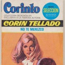 Comics : CORINTO Nº 471. NO TE MEREZCO POR CORÍN TELLADO. BRUGUERA 1975.. Lote 15717102