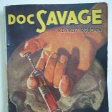 Comics: DOC SAVAGE Nº 16. LOCURA AZUL. HOMBRES AUDACES Nº 60. MOLINO. 1943. ROBESON KENNETH. Lote 16204628