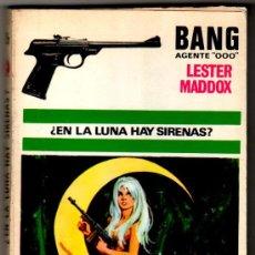 Cómics: BANG AGENTE 000 Nº 26, POR LESTER MADDOX , 200 PGS. EDI. FERMA 1970, 19 X 12 CMS.RAFAEL CORTIELLA PO. Lote 16610264