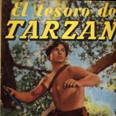 Cómics: EL TESORO DE TARZÁN (EDITORIAL GUSTAVO GILI, 1956). Lote 19905875