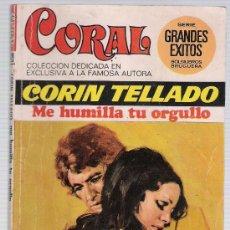 Comics : CORAL Nº 429. ME HUMILLA TU ORGULLO. CORÍN TELLADO. BRUGUERA 1975.. Lote 20075411