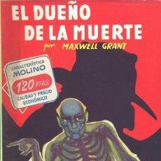 Cómics: LA SOMBRA THE SHADOW - COLECCION HOMBRES AUDACES Nº 149 EL DUEÑO DE LA MUERTE - MOLINO. Lote 27638611
