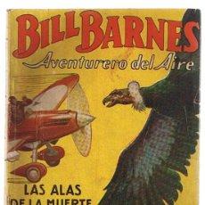 Cómics: HOMBRES AUDACES BILL BARNES Nº 2. LAS ALAS DE LA MUERTE.G. EATON. MOLINO ARGENTINA 1938.. Lote 22892480