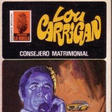 Cómics: SERIE LA HUELLA LOU CARRIGAN - Nº 37 CONSEJERO MATRIMONIAL. Lote 24354934