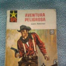 Cómics: AVENTURA PELIGROSA, NOVELA DEL OESTE DE SAM FLETCHER, COL. SALVAJE Nº 546. Lote 26242269