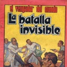 Cómics: EL VENGADOR DEL MUNDO Nº7 (EDITORIAL VALENCIANA) FIDEL PRADO. Lote 26529342