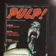Cómics: PULP 1. Lote 27649444