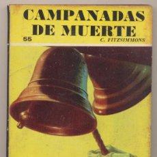 Cómics: COLECCIÓN RASTROS Nº 55. CAMPANADAS DE MUERTE. ACME - BUENOS AIRES 1947.. Lote 27930564